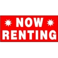 Now Renting Banner