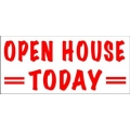 Open House Today Banner