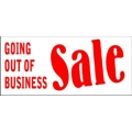 Out of Business Sale Banner