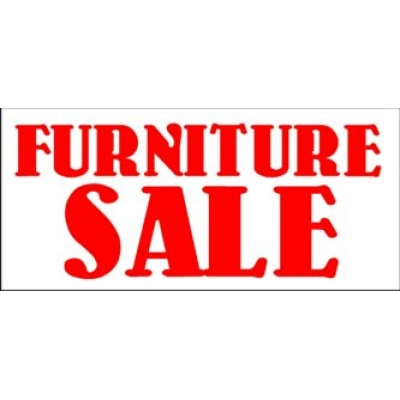 Furniture sale Rattan Signvibecom Furniture Sale Banner