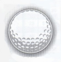 Golf Ball Hole Sign