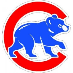 MLB Chicago Cubs Walking Bear Logo