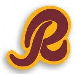 NFL Washington Redskins R Logo Vinyl Decal