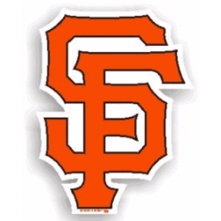 MLB San Francisco Giants SF Vinyl Decal