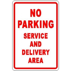 Service and Delivery Sign